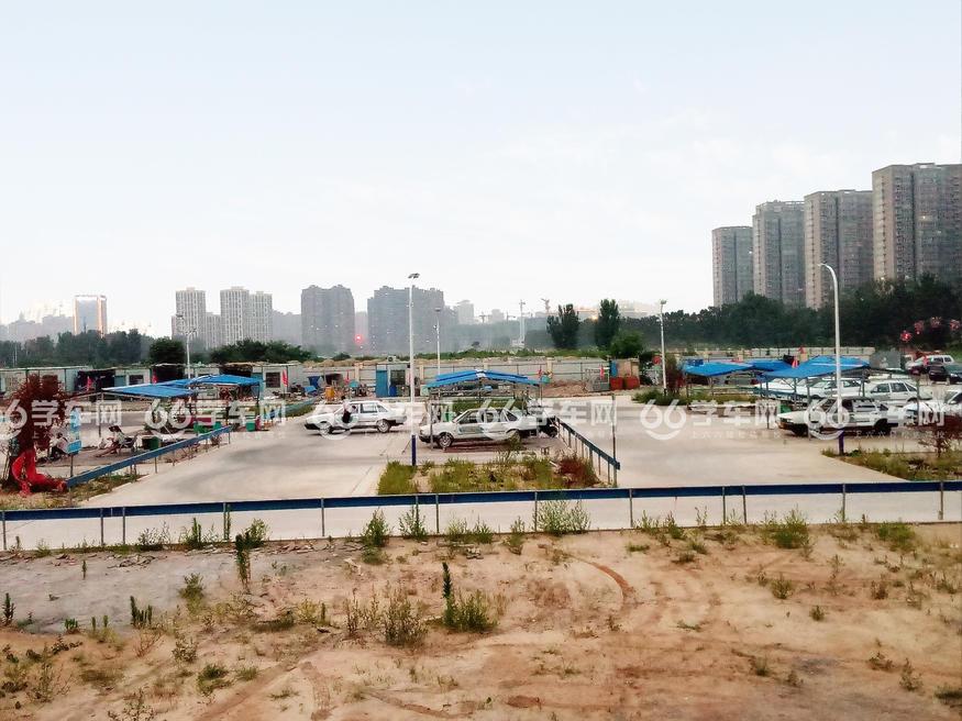 郑州龙子湖驾校场地俯瞰图